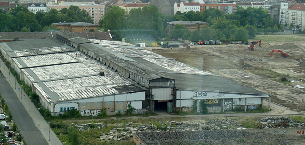 Former Cattle Auction Hall 2004